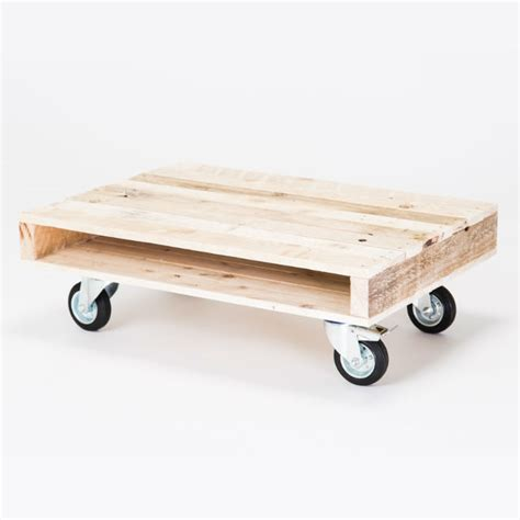 pallet table with wheels on wheels small pallet coffee table