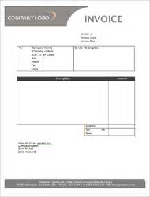 Free Invoice Template With Logo Service Invoice 28 Download Documents In Pdf Word