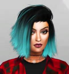 sims 4 custom content hair kylie jenner sim at simpliciaty 187 sims 4 updates