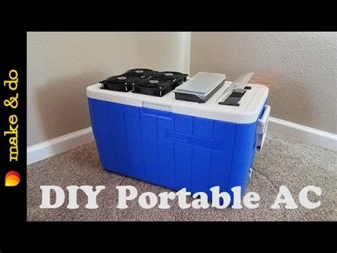 diy battery operated l homemade portable air conditioner diy easy build usb