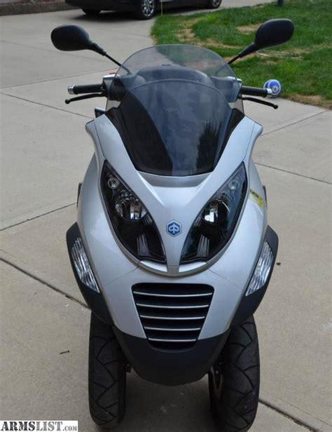 armslist for sale 2009 piaggio mp3 250 3 wheel scooter nc