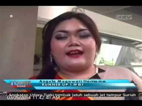 vidios orang gemuk antv topik kontes kecantikan wanita gemuk youtube