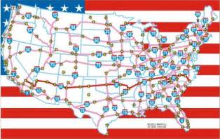 united states interstate highway map the complicated problem of the united states
