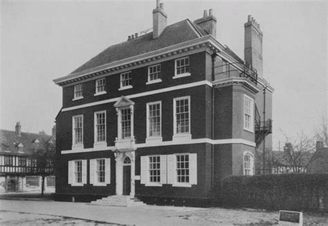18th century houses plate 139 18th century houses the red house and the old residence british history