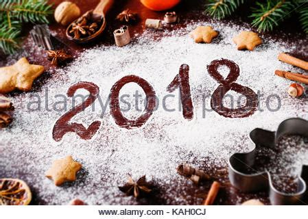 new year cookies 2018 card with gingerbread cookies 2018 merry