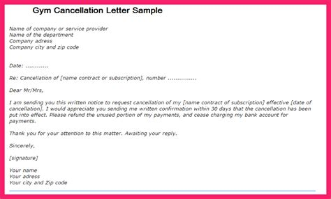 cancellation request letter sle plot cancellation letter format in 28 images doc
