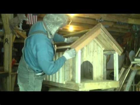 home made dog houses homemade dog house made from pallets youtube