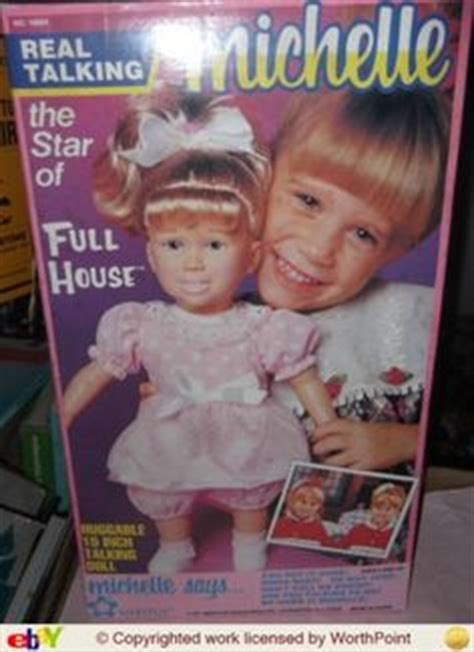 michelle doll full house full house collection doll full house real talking michelle doll 1991