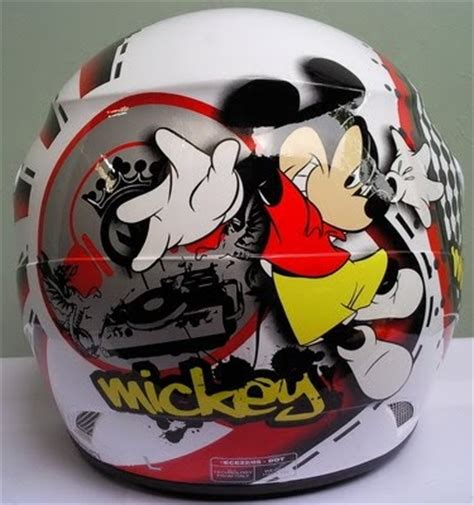 Helm Gm Fighter Series jualjakethelm helm gm mickey mouse gn01