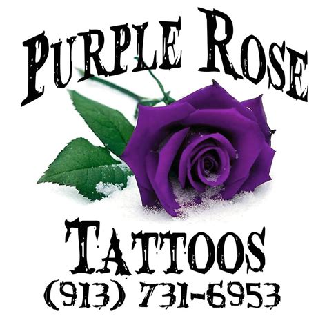 purple rose tattoo paola ks purple tattoos notes