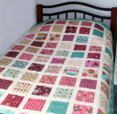 Quilt For Bed by Sew Fabric By Paula New Pattern The Charm Square Bed Quilt