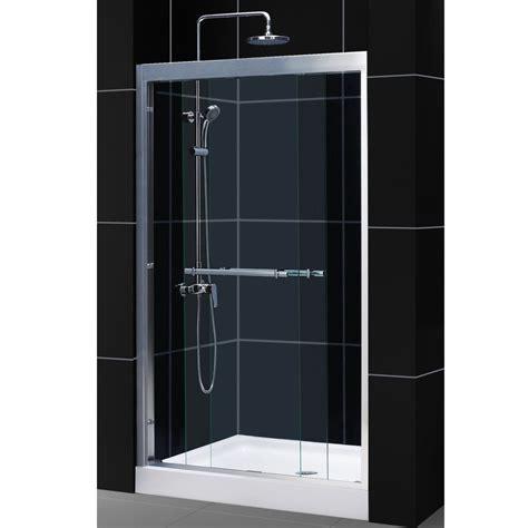 modern bathroom glass door shower tina minter