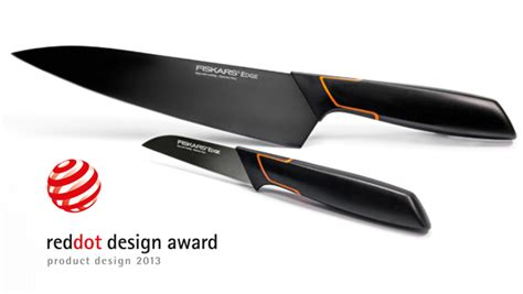 designer kitchen knives tobias wandrup receives a reddot design award for his edge