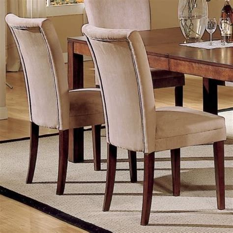 upholstered parsons dining room chairs upholstered parsons dining room chairs set of 4 italian