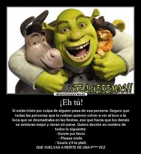 imagenes de amor chistosos del burro shrek 161 eh t 250 desmotivaciones