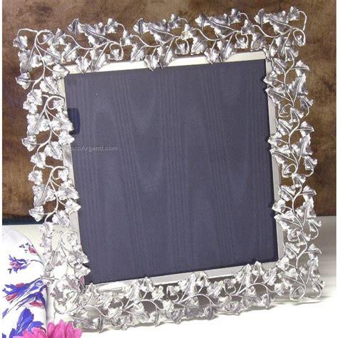 cornici per foto particolari cornice edera cocimano argenteria cm 13x18 argento 925