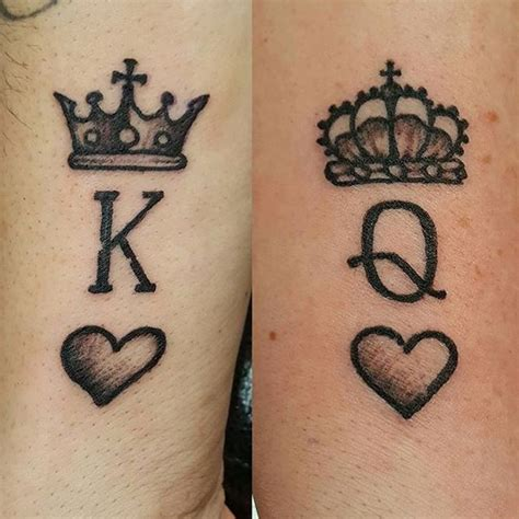 king and queen of hearts tattoo 100 best king designs from instagram