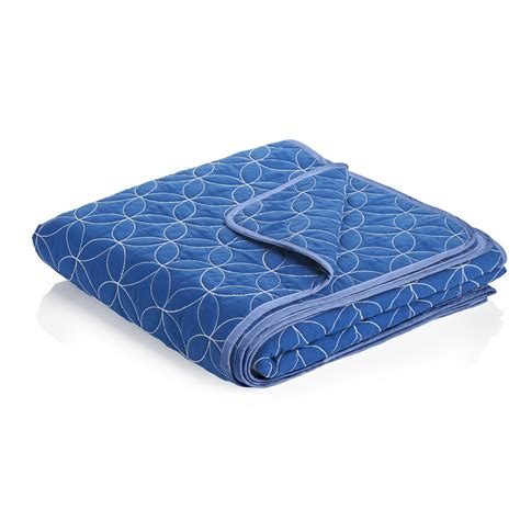 Quilted Throws by Wilko Quilted Throw Blue At Wilko