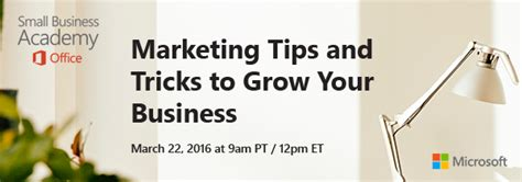 the office small business academy march webcast quot marketing