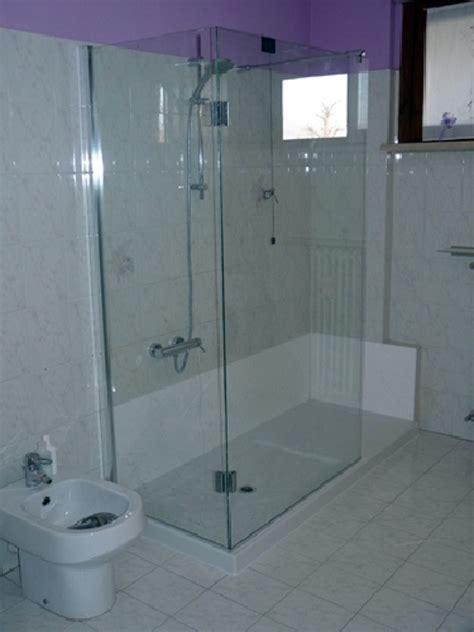 box doccia tutto vetro foto trasformazione vasca in doccia box doccia