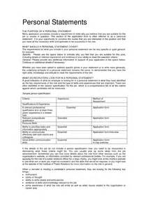 Resume Personal Profile Statement Examples The Resume Personal Statement Example Resume Personal