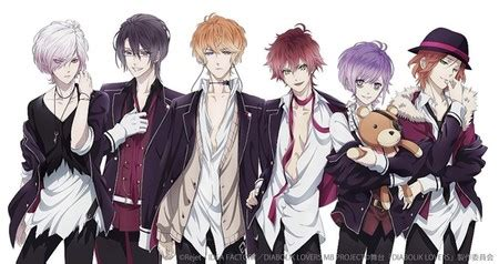 diabolik lovers anime cast diabolik lovers stage play returns with new returning
