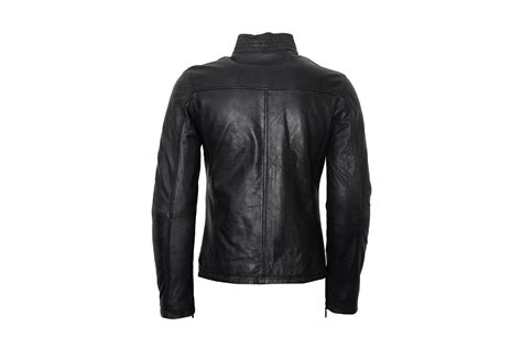 Handmade Leather Jacket - handmade mens black leather jacket mens leather jackets