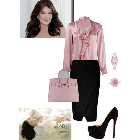 lisa vanderpump hair color lisa vanderpump look by annie sanchez via polyvore my