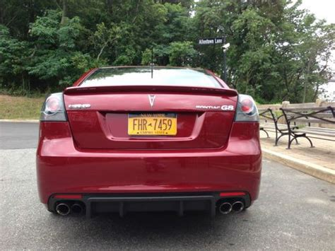 pontiac g8 gas mileage sell used 2009 pontiac g8 gxp sedan 4 door 6 2l in staten