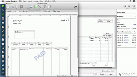 Template For Quickbooks Quickbooks Invoice Templates Invoice Template Ideas