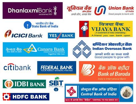 banks list banks website and banking in india