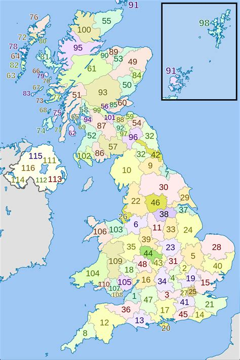 zip code map uk postal counties of the united kingdom wikipedia