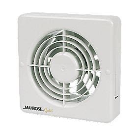 addvent bathroom extractor fans manrose mg150bs 20w long life axial kitchen extractor fan