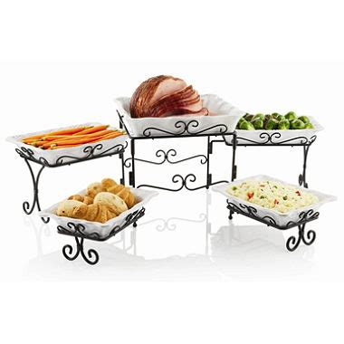 4 tier buffet server 5 tier buffet server sam s club