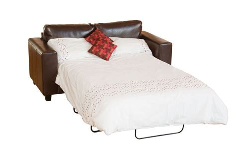 Large Leather Sofa Bed Large Leather Sofa Bed In Black Brown Ivory Homegenies
