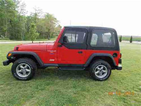 1997 Jeep Wrangler Sport Purchase Used 1997 Jeep Wrangler Sport Sport Utility 2