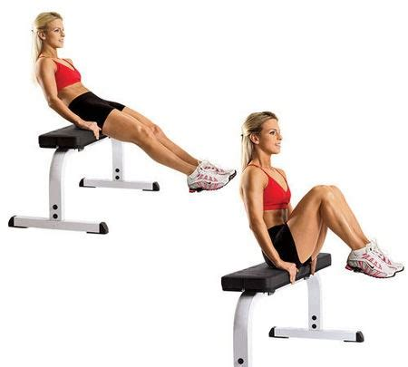 bench leg pull in 20 chair exercises for gains at home