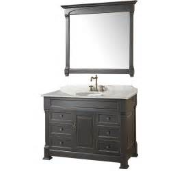 bathtoom vanity 48 quot andover 48 black bathroom vanity bathroom vanities