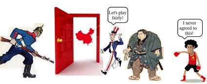 Open Door Policy China by China Political Aric S Apush Lair