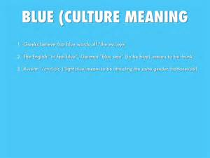 blue meaning colours by 17franj
