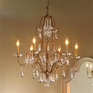 swag chandelier in elegance swag chandelier 6 lt