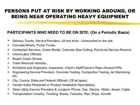 mobile equipment osha construction safety for vehicles mobile equipment