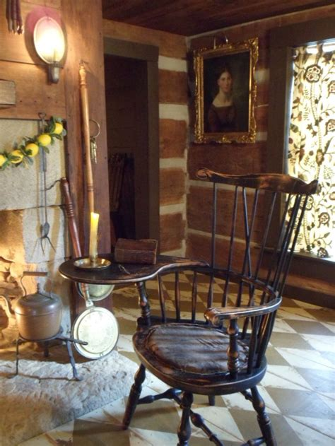 primitive colonial home decor farmhouse interior living room with chair primitive colonial farmhouse