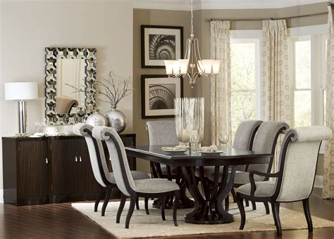 espresso dining room set savion espresso tone extendable dining room set
