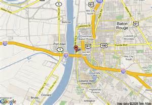 Map Of Baton Rouge Louisiana by Map Of Sheraton Baton Rouge Convention Center Hotel Baton