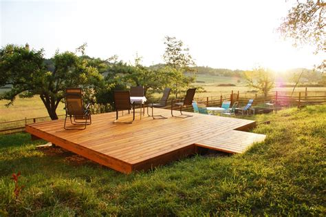 deck in backyard choosing the right deck for your wine country backyard