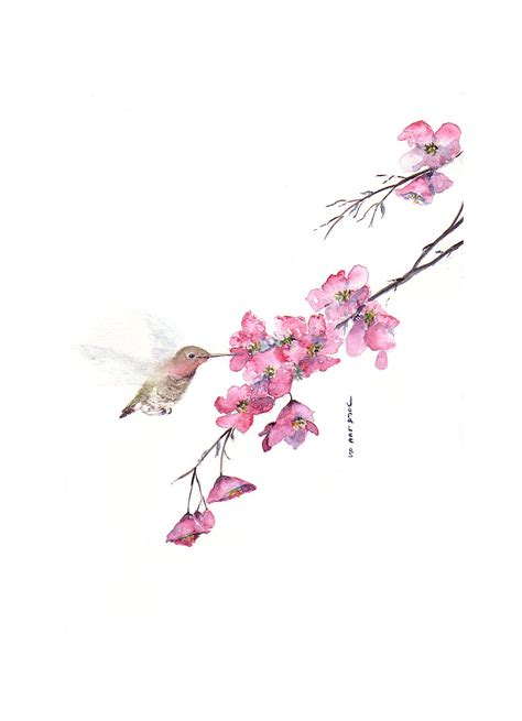 watercolor tattoos cherry blossoms watercolor designs 1