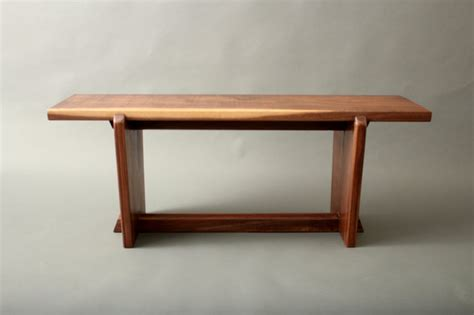 art gallery bench japanese style gallery entry walnut bench metropolitan