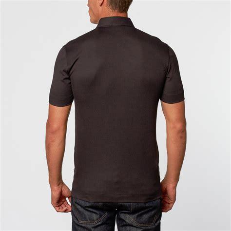 Polo Zipper hugo zipper polo black s hugo touch of modern