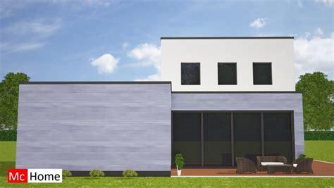 Kleine Bungalow Bouwen by Moderne Kubistische Bungalow Met Kleine Verdieping Mchome